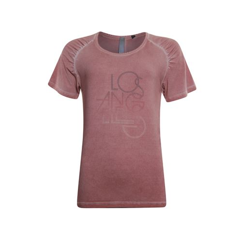 Poools ladieswear t-shirts & tops - t-shirt la. available in size 36,38,40,42,44,46 (red)