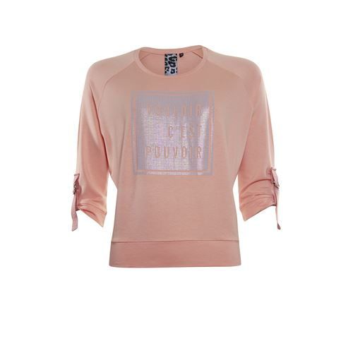 Poools ladieswear pullovers & vests - sweater text. available in size 40,42,44,46 (orange)