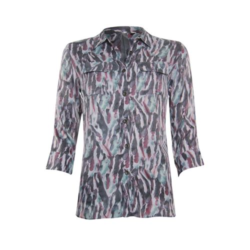 Poools ladieswear blouses & tunics - blouse print. available in size 38,46 (multicolor)