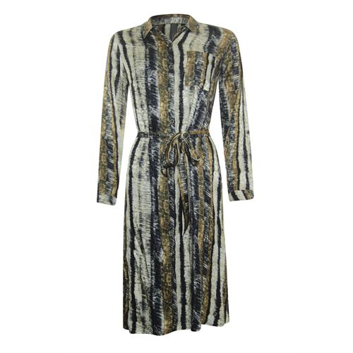 Poools ladieswear dresses - dress stripe. available in size 36,38,40,42,44,46 (multicolor)