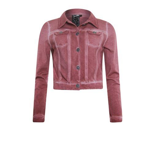 Poools dameskleding jassen & blazers - jacket long sleeve. beschikbaar in maat 36,38,40,42,44,46 (rood)