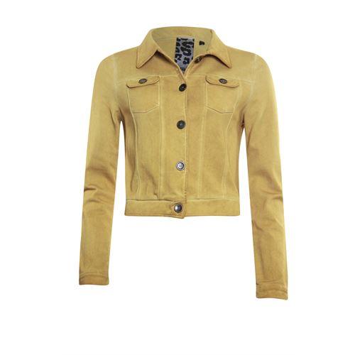 Poools dameskleding jassen & blazers - jacket long sleeve. beschikbaar in maat 40,42,44,46 (geel)