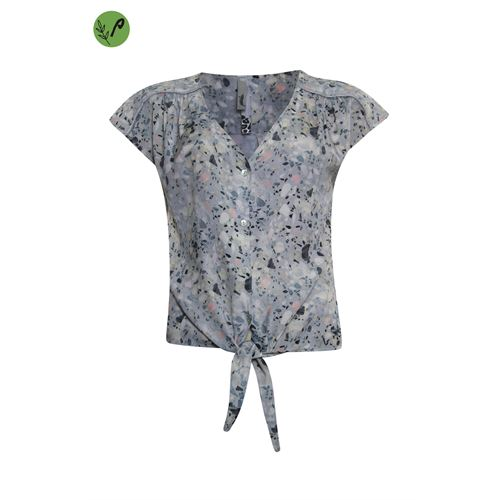 Poools ladieswear blouses & tunics - blouse print. available in size 36,38,40,42,44,46 (multicolor)