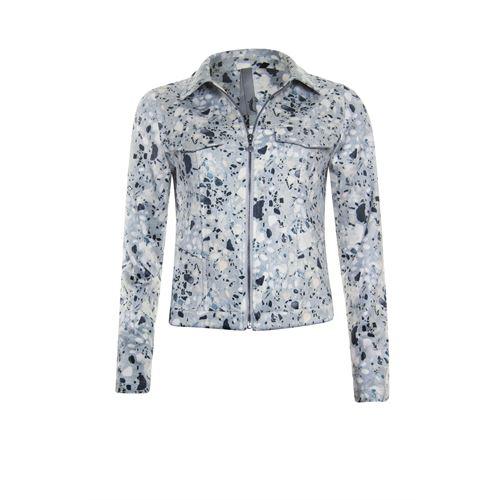 Poools dameskleding jassen & blazers - jacket print. beschikbaar in maat 38,40,42,44,46 (multicolor)