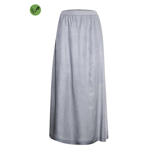 Poools ladieswear skirts - skirt tencel. available in size 36,38,40,42,44,46 (grey)