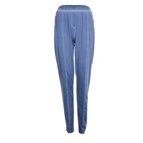 Poools ladieswear trousers - pant travel washed. available in size 36,38,40,42,44,46 (blue)