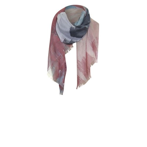 Poools ladieswear accessories - scarf paint. available in size one size (orange)