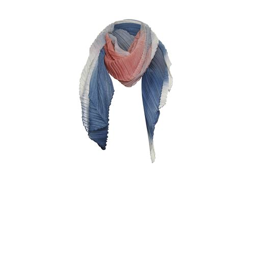 Poools ladieswear accessories - scarf plissé. available in size one size (orange)