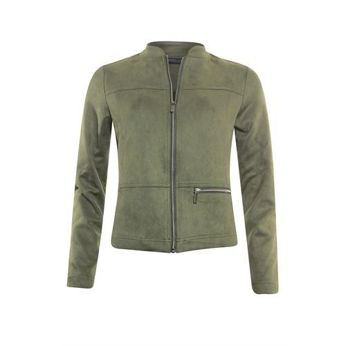 Roberto Sarto ladieswear coats & jackets - jacket suedelook. available in size 48 (olive)