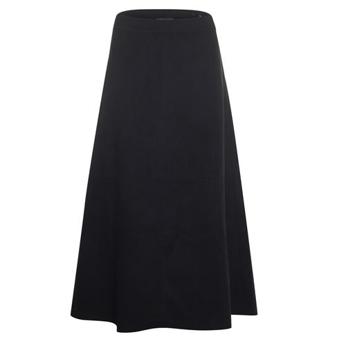 Roberto Sarto ladieswear skirts - skirt long suedelook. available in size 38,40,42,44,46,48 (black)
