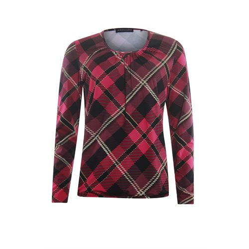 Roberto Sarto ladieswear t-shirts & tops - blouson o-neck, l/s. available in size 38,40,48 (black,multicolor,pink)