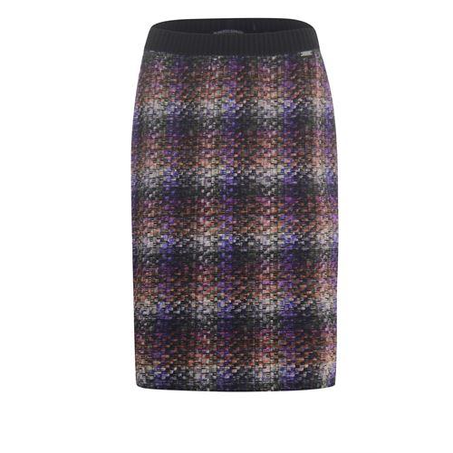 Roberto Sarto ladieswear skirts - skirt straight  printed. available in size 44 (brown,multicolor,purple)