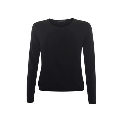 Roberto Sarto ladieswear t-shirts & tops - blouson o-neck. available in size 38,40,42,44,46,48 (black)