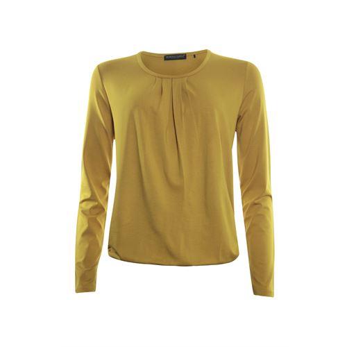 Roberto Sarto ladieswear t-shirts & tops - blouson o-neck. available in size 38 (ochre)