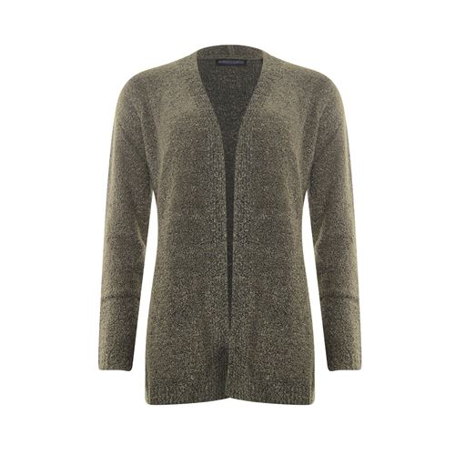 Roberto Sarto ladieswear pullovers & vests - cardigan shawl collar. available in size 38,40,42,44,46,48 (olive)
