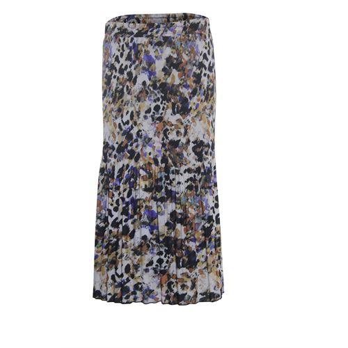 Roberto Sarto ladieswear skirts - skirt plissé  printed. available in size 38,40,42,44,46,48 (brown,multicolor,purple)