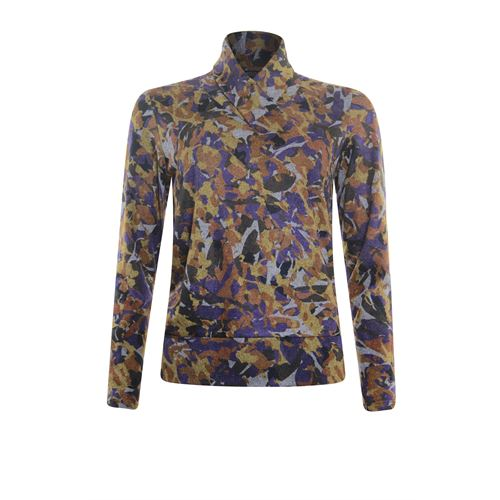 Roberto Sarto ladieswear pullovers & vests - pullover shawl collar. available in size 40,42,44,48 (multicolor)