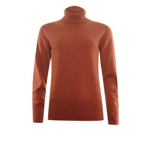 Roberto Sarto ladieswear pullovers & vests - pullover rollcollar wool. available in size 38,40,42,44,46,48 (orange)