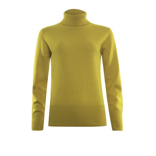 Roberto Sarto ladieswear pullovers & vests - pullover rollcollar wool. available in size 38,40,42,44,46 (yellow)