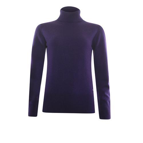 Roberto Sarto dameskleding truien & vesten - koltrui in wol. beschikbaar in maat 38,40,42,44,46,48 (paars)