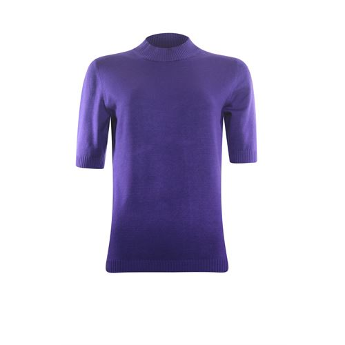 Roberto Sarto ladieswear pullovers & vests - pullover turtle short sleeves. available in size 38,40,46 (purple)