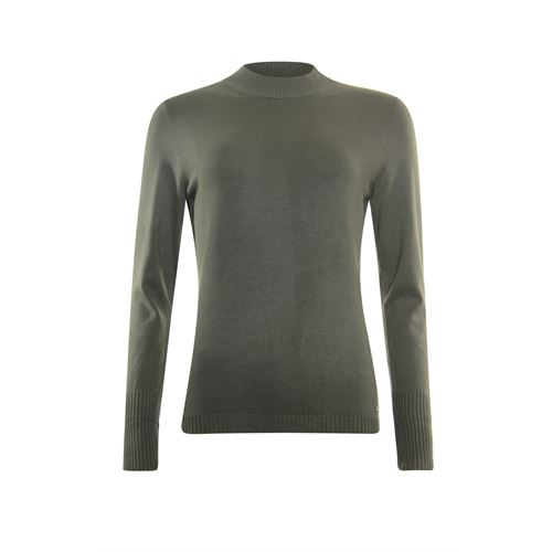 Roberto Sarto ladieswear pullovers & vests - pullover turtle long sleeves. available in size 46 (olive)