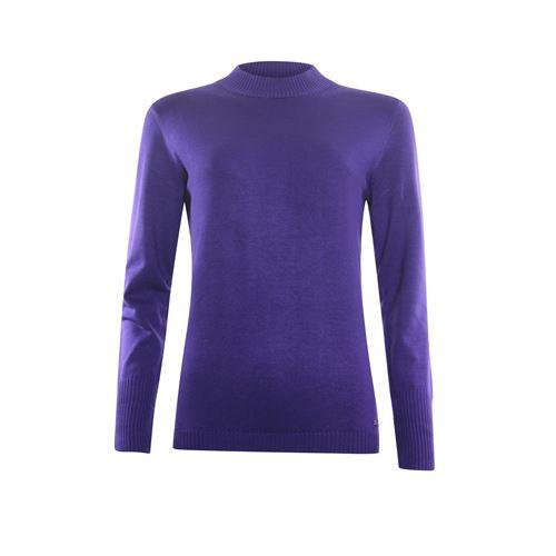 Roberto Sarto dameskleding truien & vesten - trui turtle lange mouw. beschikbaar in maat 48 (paars)