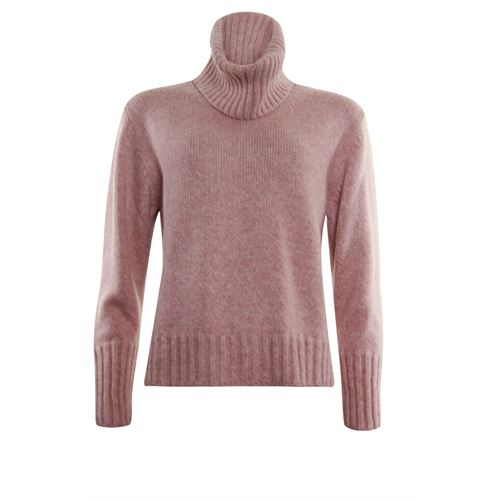 Anotherwoman ladieswear pullovers & vests - pullover with separate collar. available in size 38,40,42,44,46 (pink)
