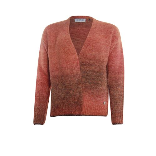 Anotherwoman ladieswear pullovers & vests - cardigan v-neck. available in size 36,38,40,42,44,46 (multicolor,red)