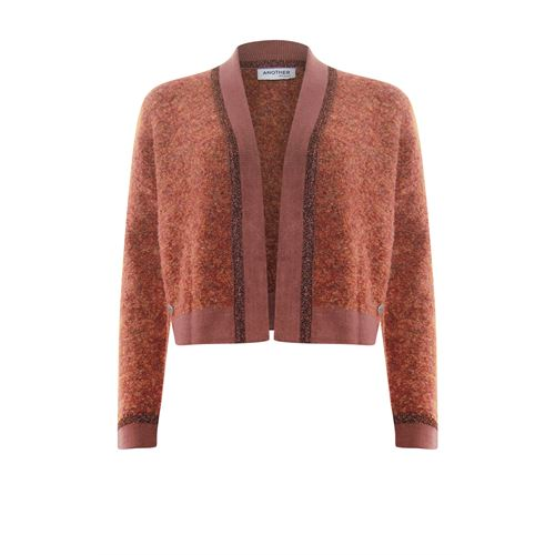 Anotherwoman ladieswear pullovers & vests - cardigan short. available in size 36,38,40,42,44,46 (pink)