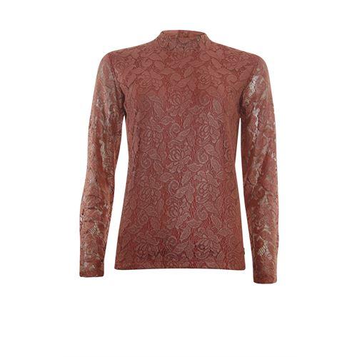 Anotherwoman dameskleding t-shirts & tops - shirt kant. beschikbaar in maat 36,38,40,42,44,46 (rood)