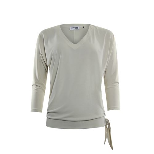 Anotherwoman ladieswear t-shirts & tops - t-shirt v-neck. available in size 36,38,40,42,44,46 (off-white)