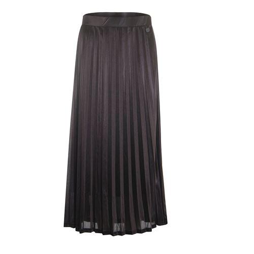 Anotherwoman dameskleding rokken - rok plissee. beschikbaar in maat 36,38,40,42,44,46 (bruin)