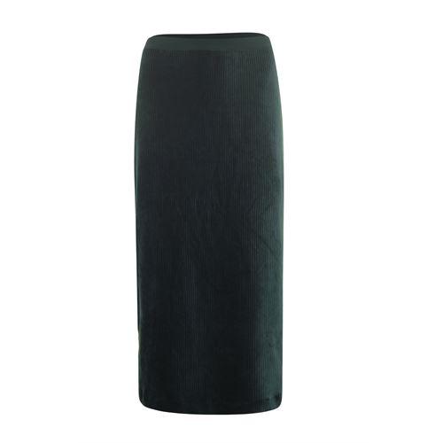 Anotherwoman dameskleding rokken - rok rib. beschikbaar in maat 36,38,40,42 (groen)