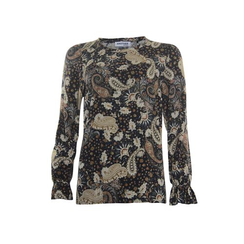 Anotherwoman ladieswear blouses & tunics - blouse printed. available in size 36,38,40,42,44,46 (multicolor)