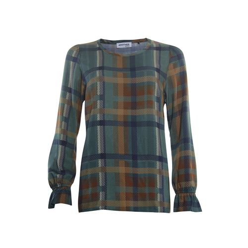 Anotherwoman ladieswear blouses & tunics - blouse printed. available in size 44,46 (multicolor)