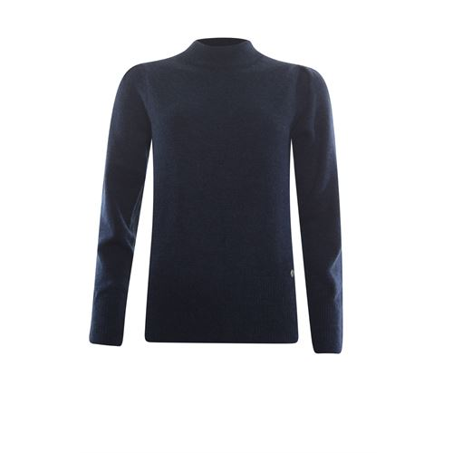 Anotherwoman ladieswear pullovers & vests - pullover turtle. available in size 36,42 (blue)