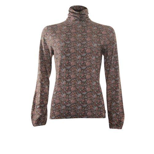 Anotherwoman dameskleding t-shirts & tops - t-shirt met kol. beschikbaar in maat 38,42,44,46 (multicolor)