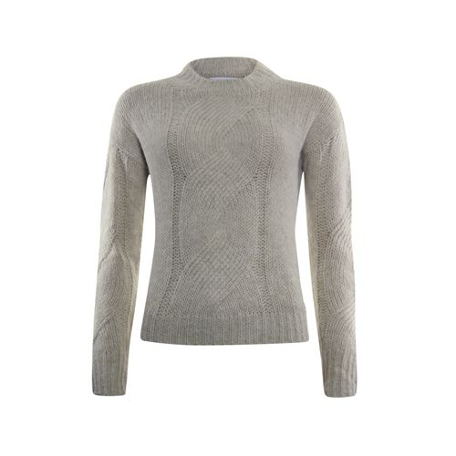 Anotherwoman ladieswear pullovers & vests - pullover cable. available in size 36,38,40,42,44,46 (brown)