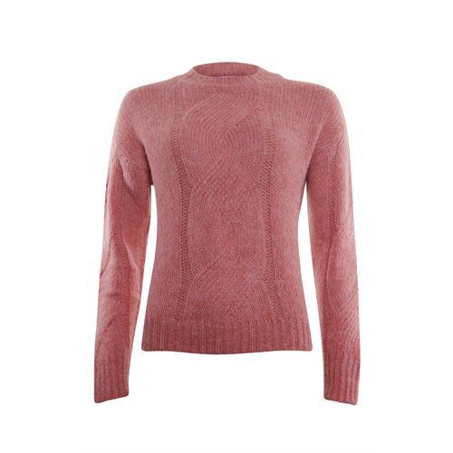 Anotherwoman dameskleding truien & vesten - kabeltrui. beschikbaar in maat 36,38,40,42,44,46 (roze)