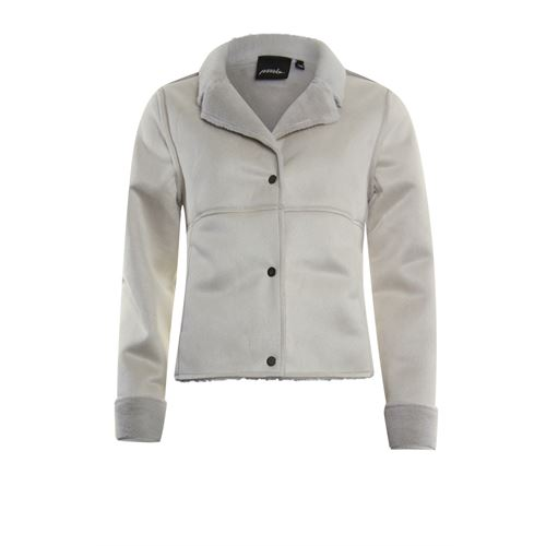 Poools dameskleding jassen & blazers - jasje lammy. beschikbaar in maat 38,42 (ecru)