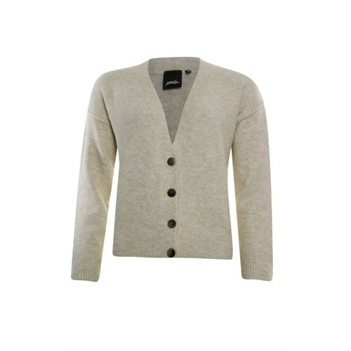 Poools ladieswear pullovers & vests - cardigan v-neck. available in size 36,38,40,42,44,46 (off-white)