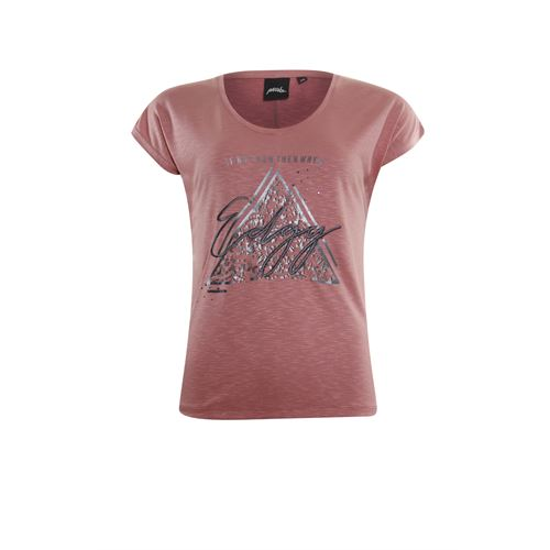 Poools ladieswear t-shirts & tops - t-shirt edgy. available in size 38,40,42 (pink)