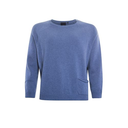 Poools ladieswear pullovers & vests - pullover pocket. available in size 42,44,46 (blue)