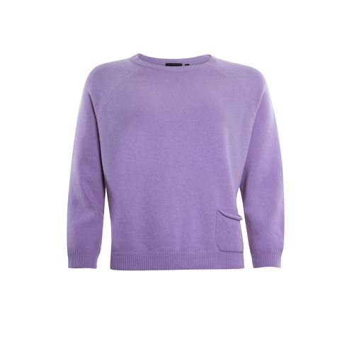 Poools ladieswear pullovers & vests - pullover pocket. available in size 40,42,44,46 (purple)