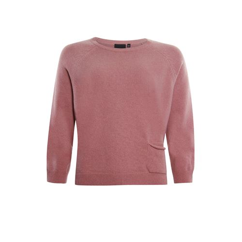 Poools ladieswear pullovers & vests - pullover pocket. available in size 36,38,40,42,44,46 (pink)