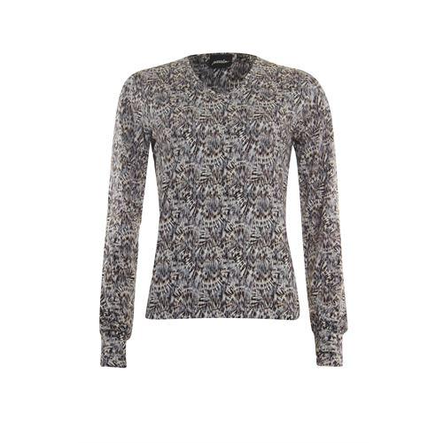 Poools dameskleding t-shirts & tops - t-shirt print. beschikbaar in maat 38,42,44,46 (multicolor)