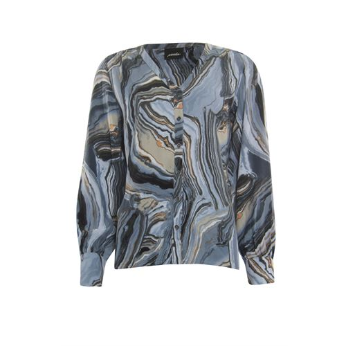 Poools ladieswear blouses & tunics - blouse v- neck. available in size 36,38,40,42,44,46 (multicolor)