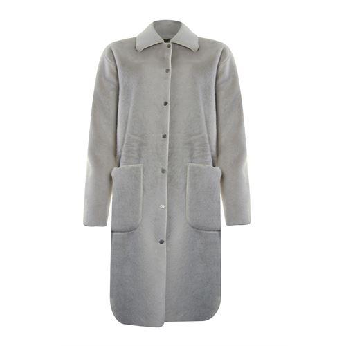Poools dameskleding jassen & blazers - jacket faux fur. beschikbaar in maat 40 (ecru)