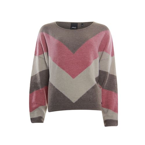 Poools ladieswear pullovers & vests - sweater 3 col.. available in size 36,38,40,42,44 (brown)